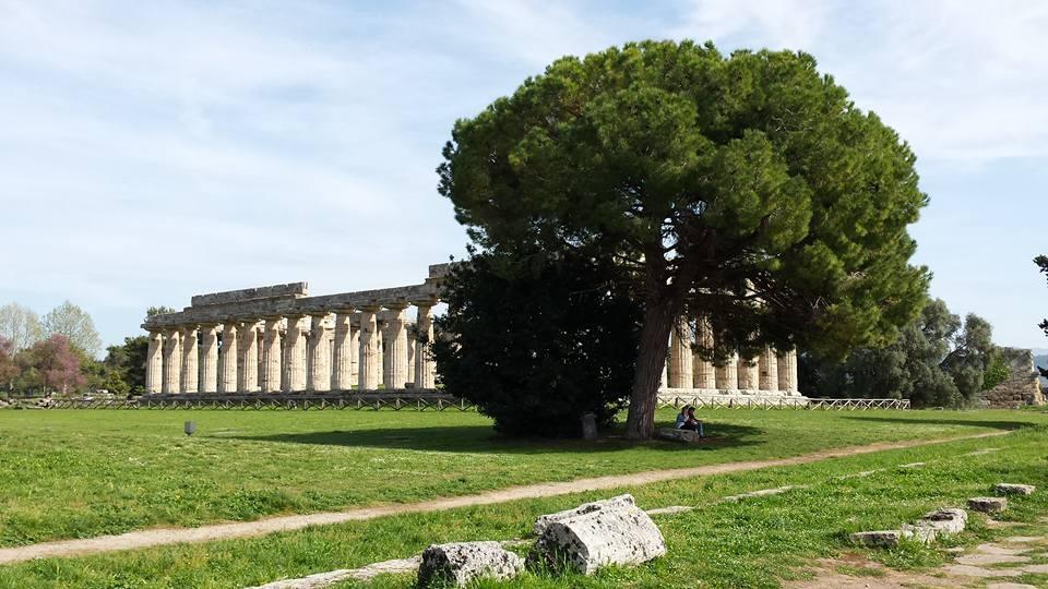 paestum tempio genius loci